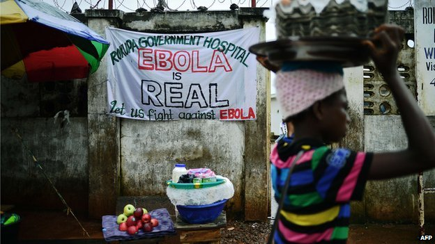 Ebola is real.